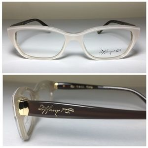 Tiffany & Co Cat Eye Pearl Eyeglasses Frames NWOT